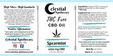 Load image into Gallery viewer, Isolate CBD Oil: Spearmint (1000 mg CBD, 30 mL)
