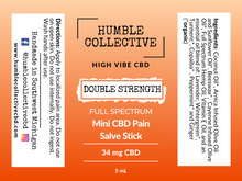 Load image into Gallery viewer, Double Strength Pain Stick: Various Sizes