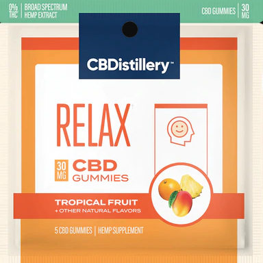 Sample Pack CBD 'Relax' Gummies - 5 pieces (30 mg/pc)
