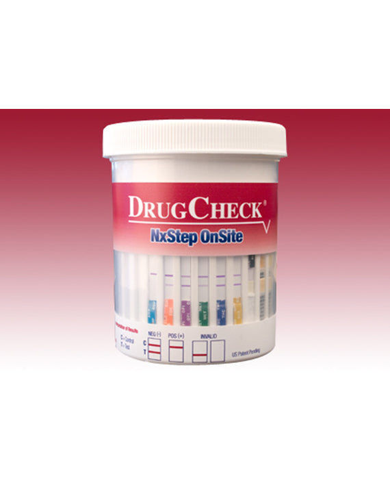 DrugCheck NxStep Urine Drug Test 6-Panel + Adulterants