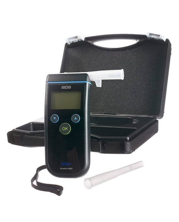 Drager Alcotest 6820, Mouthpieces & Mobile Printer Bundle Pack