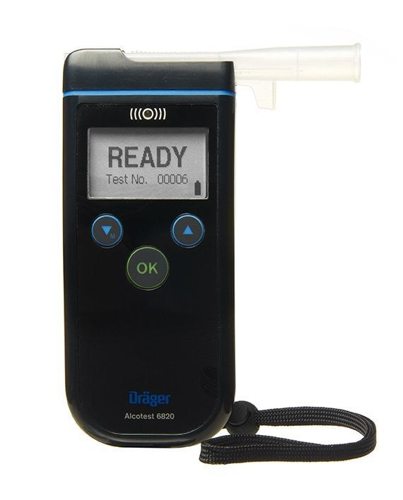 Drager Alcotest® 6820 Breathalyser Alcohol Screening Device