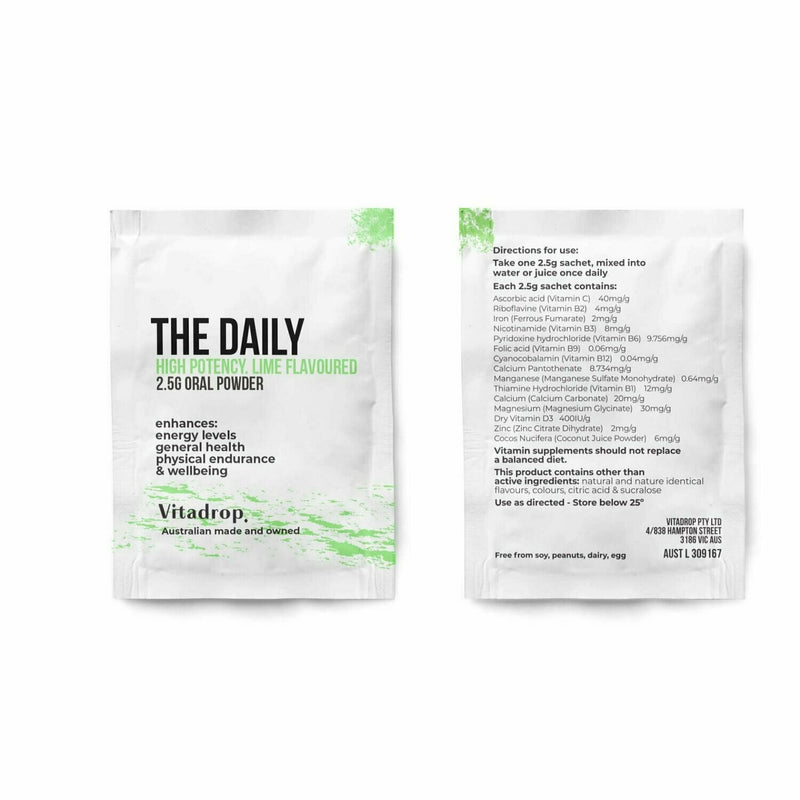 The Daily. Vitadrop Sachets.