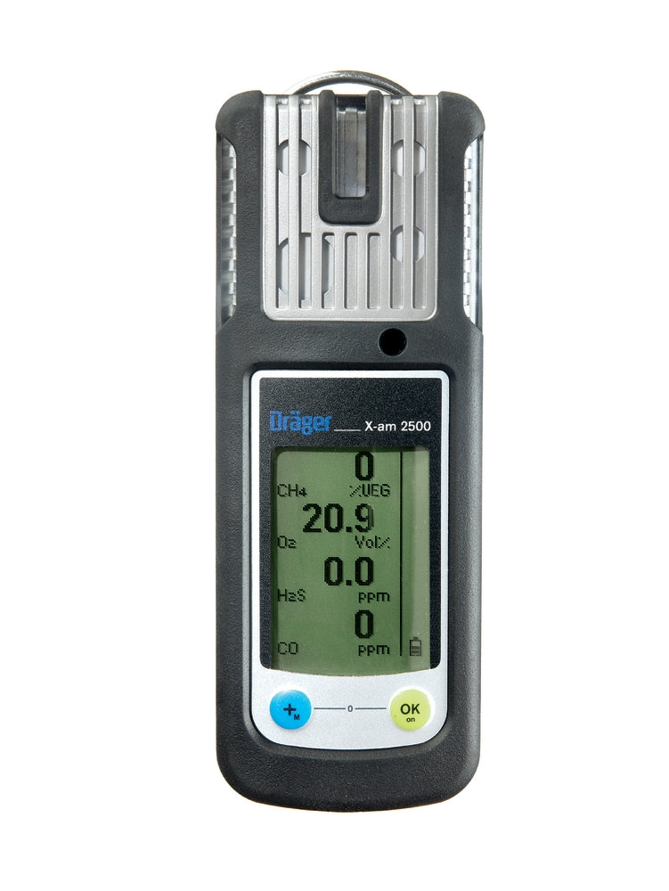 Dräger X-am® 2500 1-4 Gas Detection Device (Non-Flex Model)