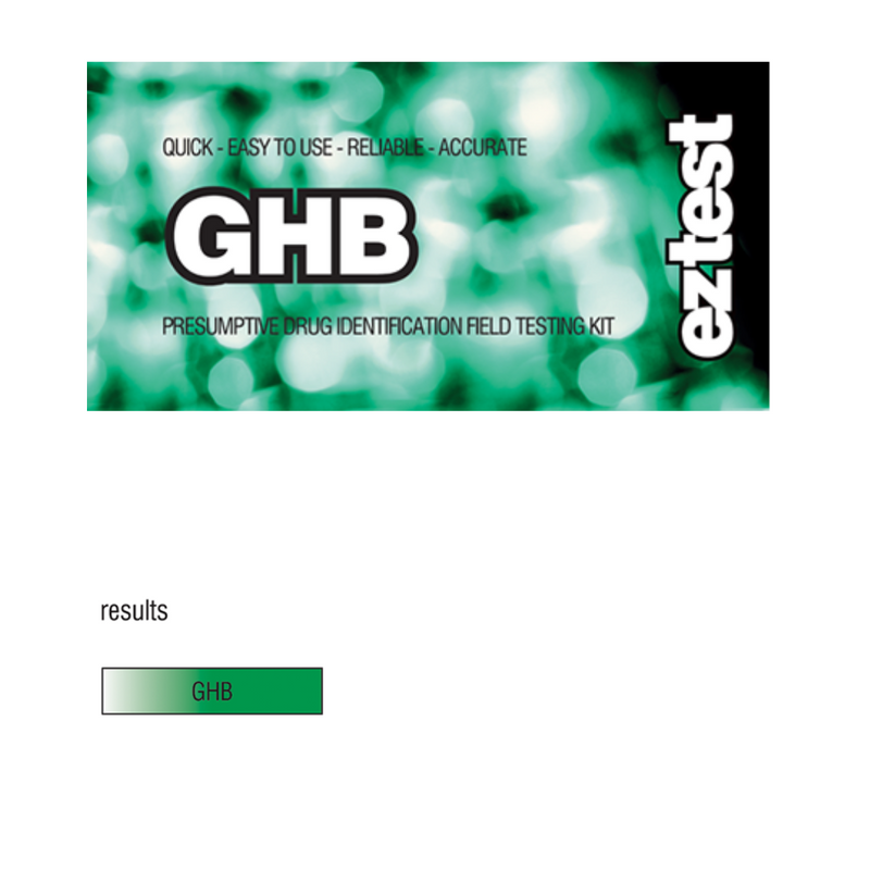 GHB - Drug Test Kit