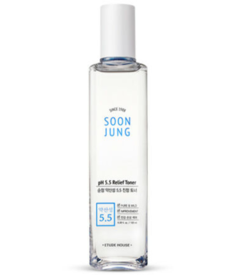 Etude House - Soon Jung pH 5,5 Relief Toner 180ml