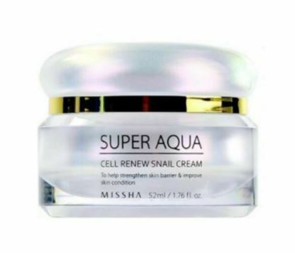 MISSHA Super Aqua Snail Renew Cream 52ml