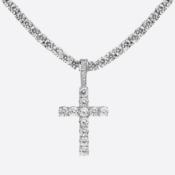 CROSS PIECE. – 18K PENDANT - Icidubai
