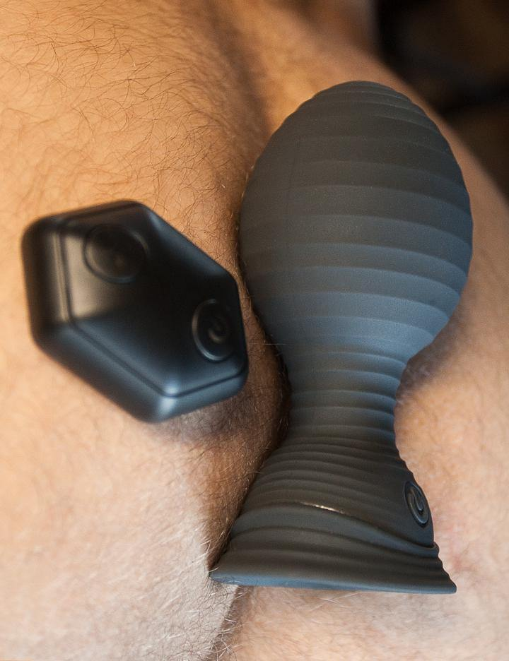VIP Vibrating Inflatable Remote Control Butt Plug-The Stockroom