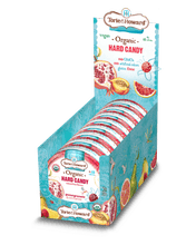 Load image into Gallery viewer, Organic Hard Candy Pomegranate & Nectarine Flavor 2oz Tin