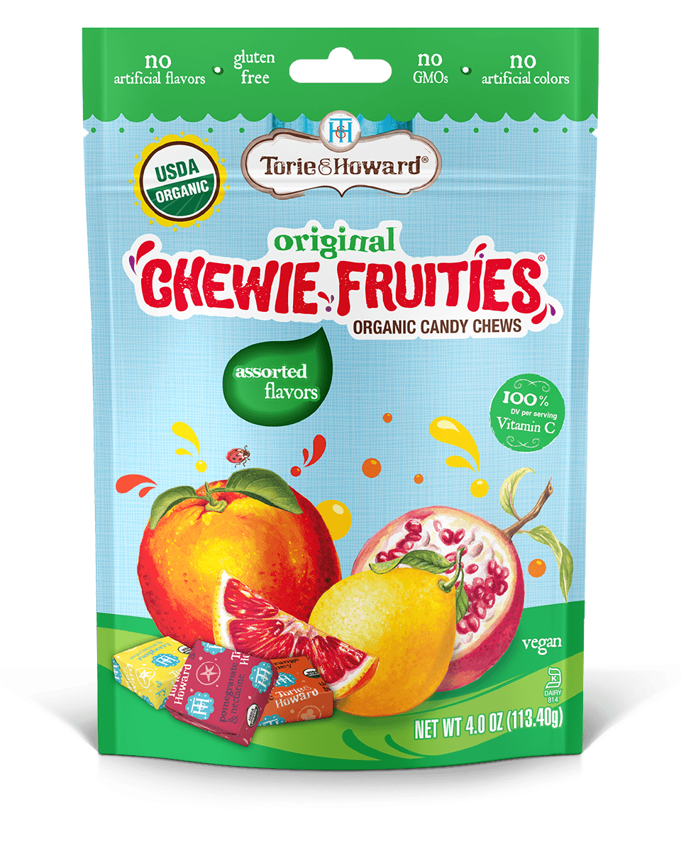 Chewie FruitiesAssorted Original Flavors 4oz Bag
