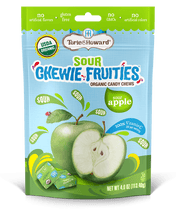Load image into Gallery viewer, Chewie Fruities Sour Apple Flavor 4oz Bag