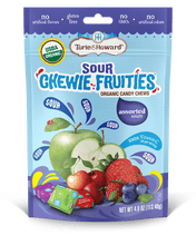 Load image into Gallery viewer, Chewie Fruities Sour Assorted Flavor 4oz Bag