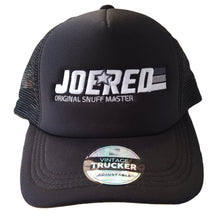 Load image into Gallery viewer, Joe Red Trucker Cap - Black