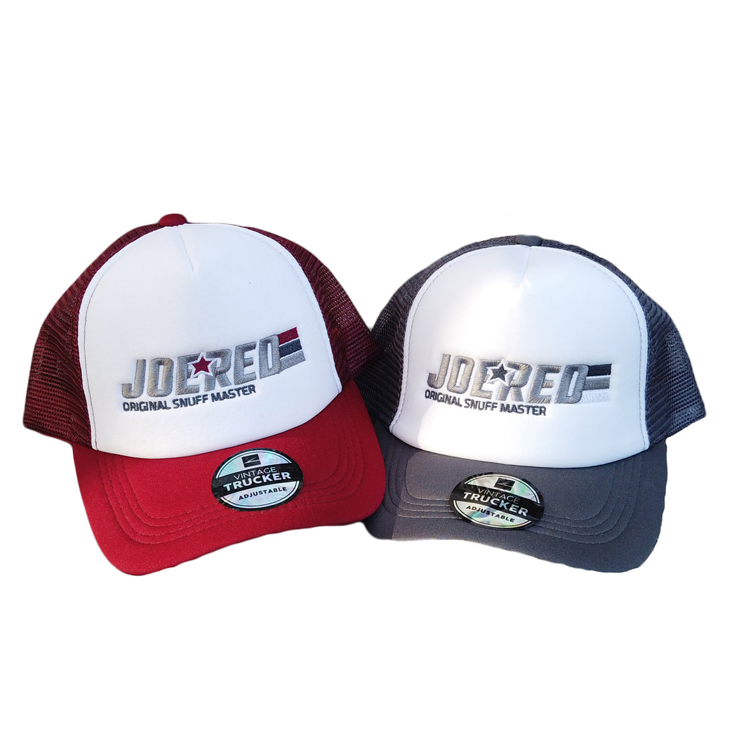Joe Red Trucker Cap - Multi-color