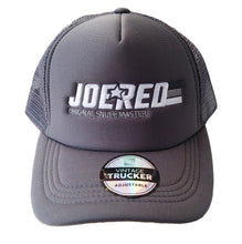 Load image into Gallery viewer, Joe Red Trucker Cap - Grey
