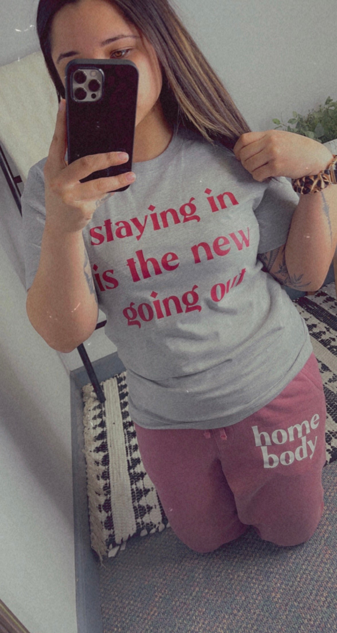 Staying In/Going Out Tee