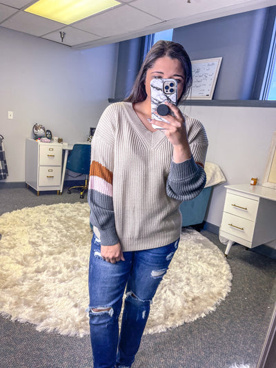 Simple Statement Knit Sweater