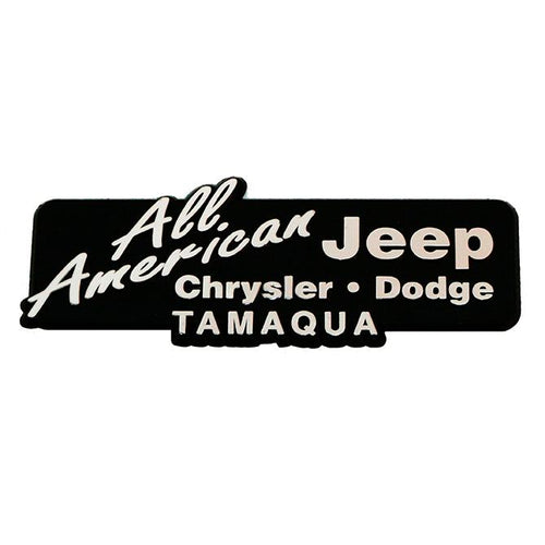 Custom 3-Dimensional Plastic Name Plates Sales Department Alabama Independent Auto Dealers Association Store