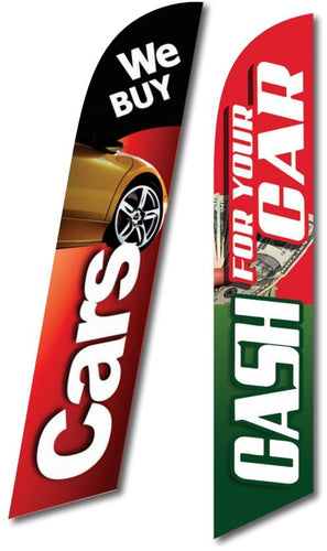 Custom Swooper Banners Sales Department Alabama Independent Auto Dealers Association Store