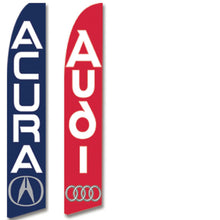 Load image into Gallery viewer, Manufacturer Swooper Banners Sales Department Alabama Independent Auto Dealers Association Store Acura