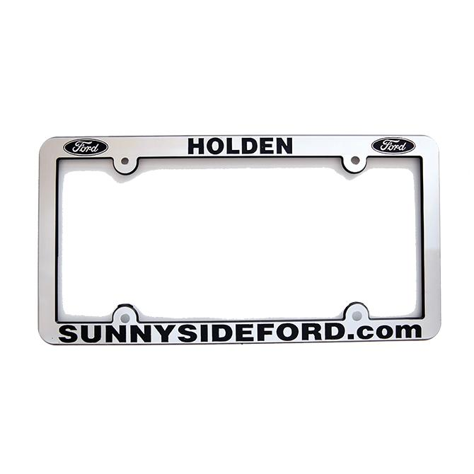 Custom Chrome License Plate Frames Sales Department Alabama Independent Auto Dealers Association Store Shiny Chrome Economy Recessed Letter