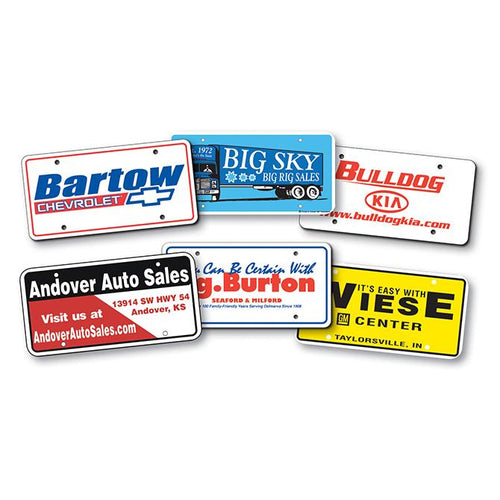 Custom Plastic License Plates Sales Department Alabama Independent Auto Dealers Association Store