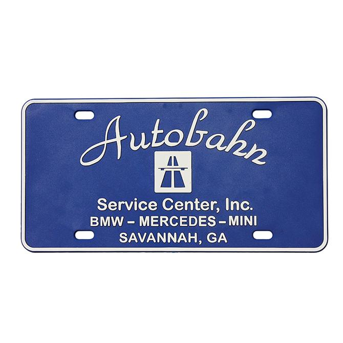Custom 3-Dimensional Plastic License Plates Sales Department Alabama Independent Auto Dealers Association Store