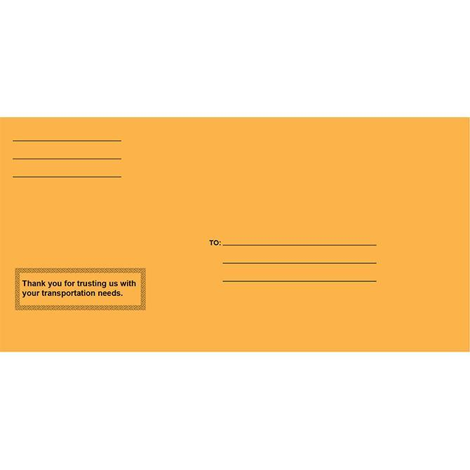 Moist & Seal License Plate Envelopes - Pre-Printed Sales Department Alabama Independent Auto Dealers Association Store Moist & Seal Pre-Printed