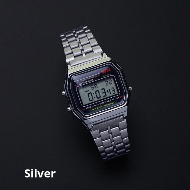 Joyrox Retro Digital Watch - Additional Colourways