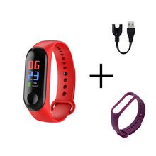 Load image into Gallery viewer, Vaiquela Smart Sports Watch; Unisex, Blood Pressure, Heart Rate Monitor, Message Reminder, Bluetooth, Waterproof