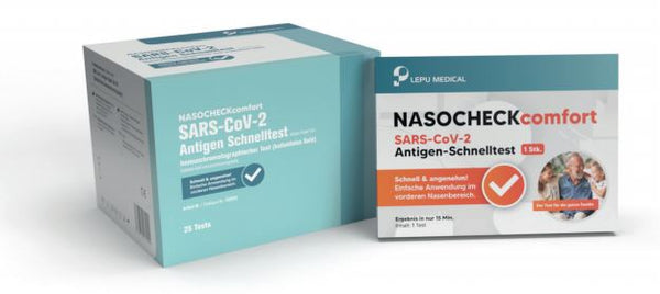 Lepu Medical/Nasocheck Antigentest 25stk./Pkg.