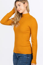 Load image into Gallery viewer, Mock Neck Viscose Sweater