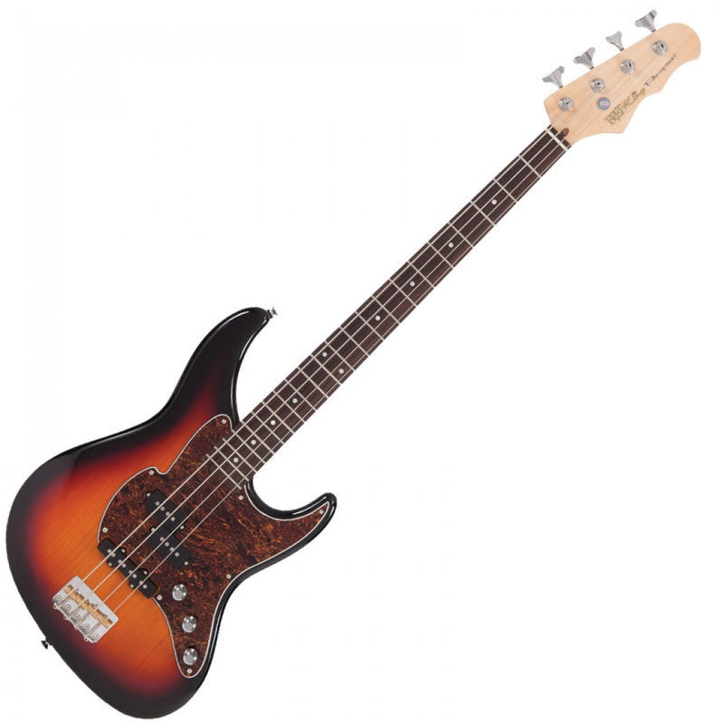 FRET-KING PERCEPTION BASS ~ ORIGINAL CLASSIC BURST