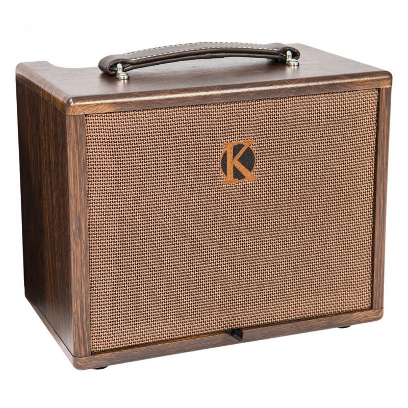 KINSMAN 45W ACOUSTIC AMP ~ MAINS/BATTERY POWER