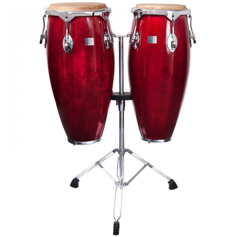 PP WORLD FULL SIZE CONGAS ~ RED
