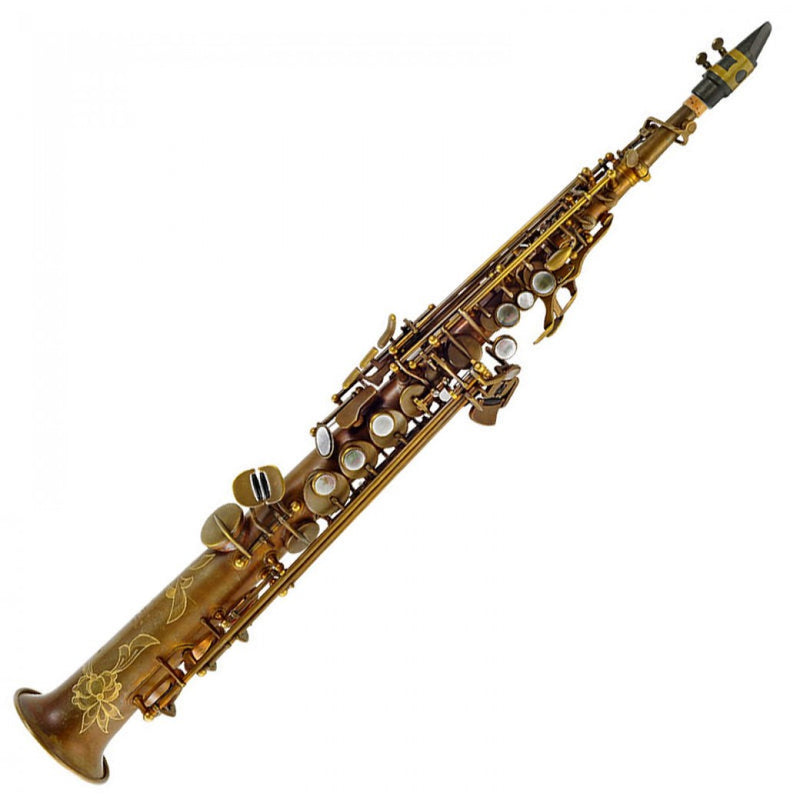 P. MAURIAT SYSTEM-76 2ND EDITION SOPRANO SAX ~ UN-LACQUERED