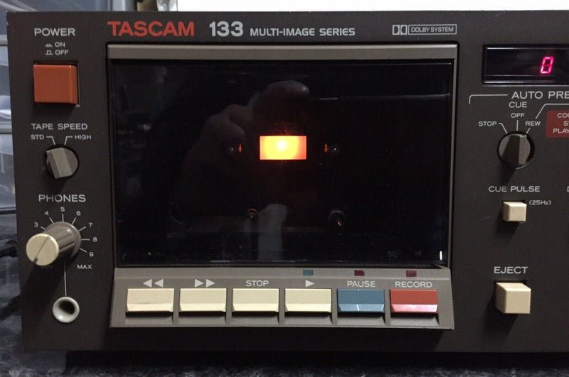 TASCAM 133 MULTI IMAGE SERIES TRACK SPEED CASSETTE DECK TAPE PLAYER RECORDER
