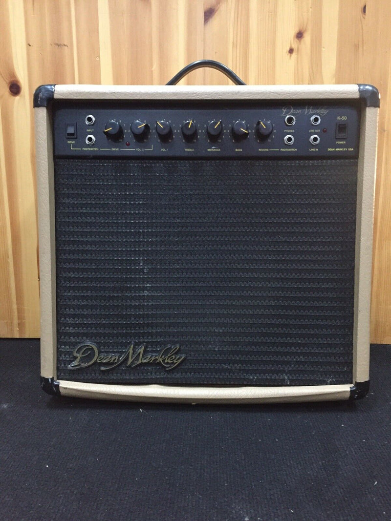 Dean Markley K-50 Guitar Amp Amplifier Spring Reverb