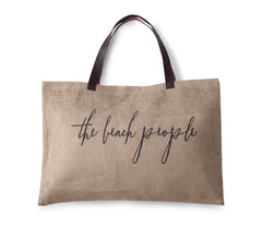 The Beach People Jute bag - original