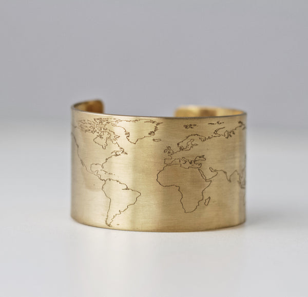 Large World Cuff