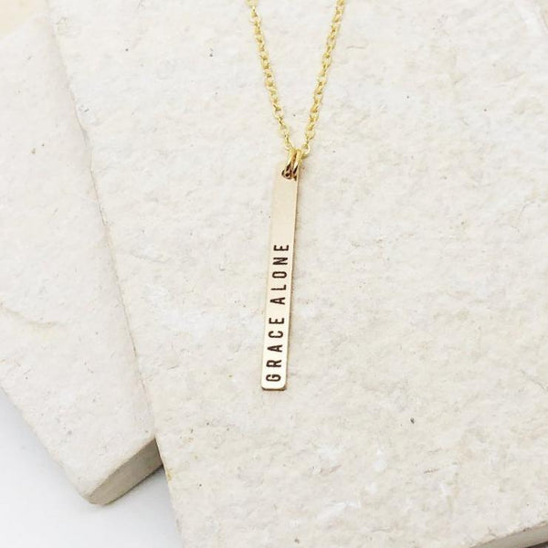 Grace Alone Necklace