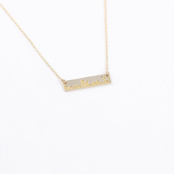 Albuquerque Skyline Necklace
