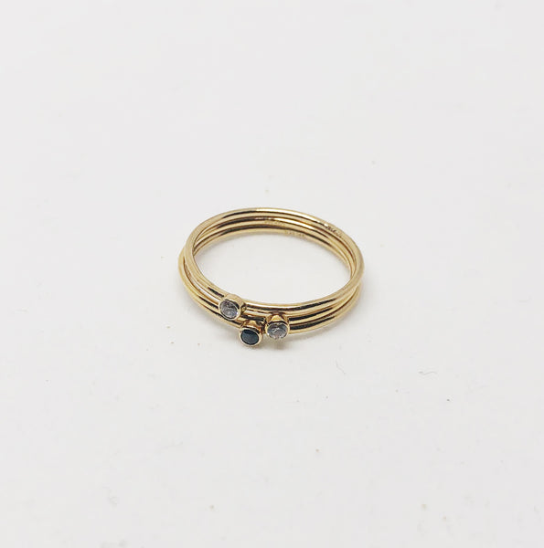 Mia and Olivia altogether beautiful ring