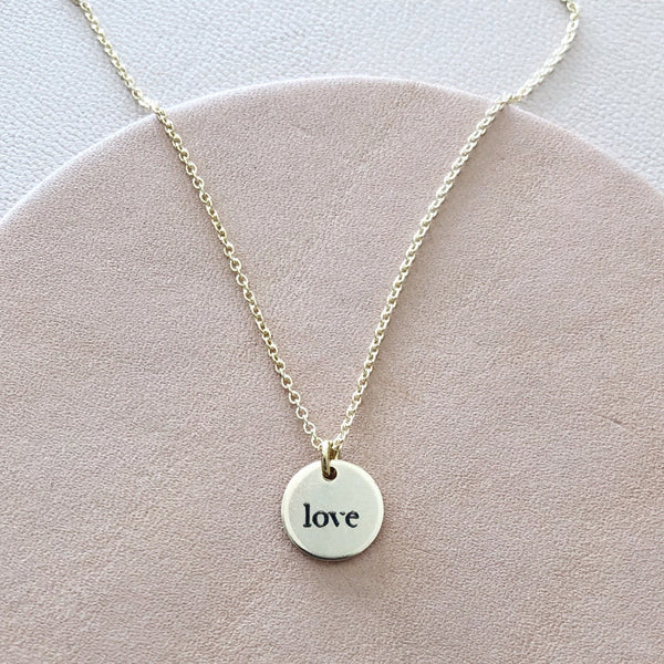 Itty Love Necklace