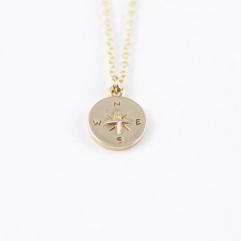 Miniature Compass Necklace
