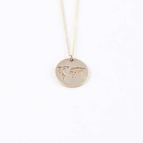 Small world necklace