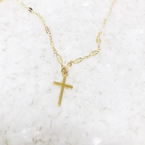 Cross Chocker Necklace