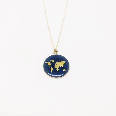 Inspire world necklace