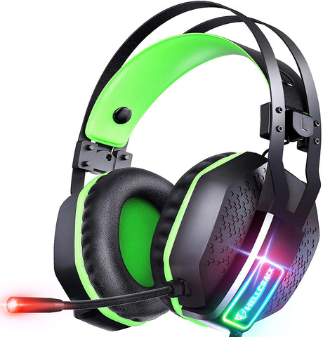 Gaming Headset for Xbox One Playstation 2 PS4 PS5 PC - Surround Sound
